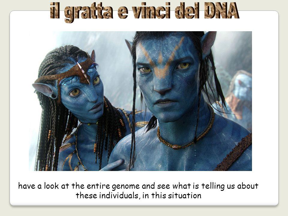il gratta e vinci del DNA