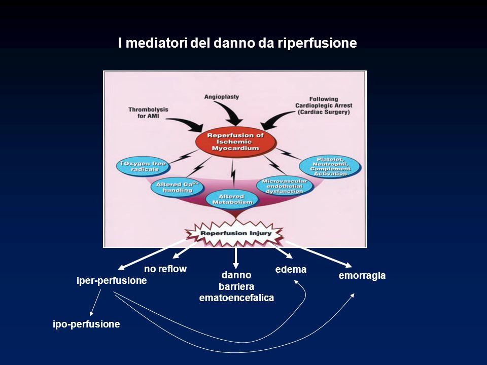 I mediatori del danno da riperfusione