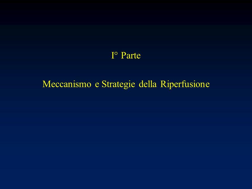 I° Parte Meccanismo e Strategie della Riperfusione