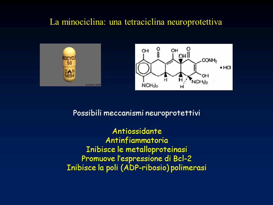 La minociclina: una tetraciclina neuroprotettiva