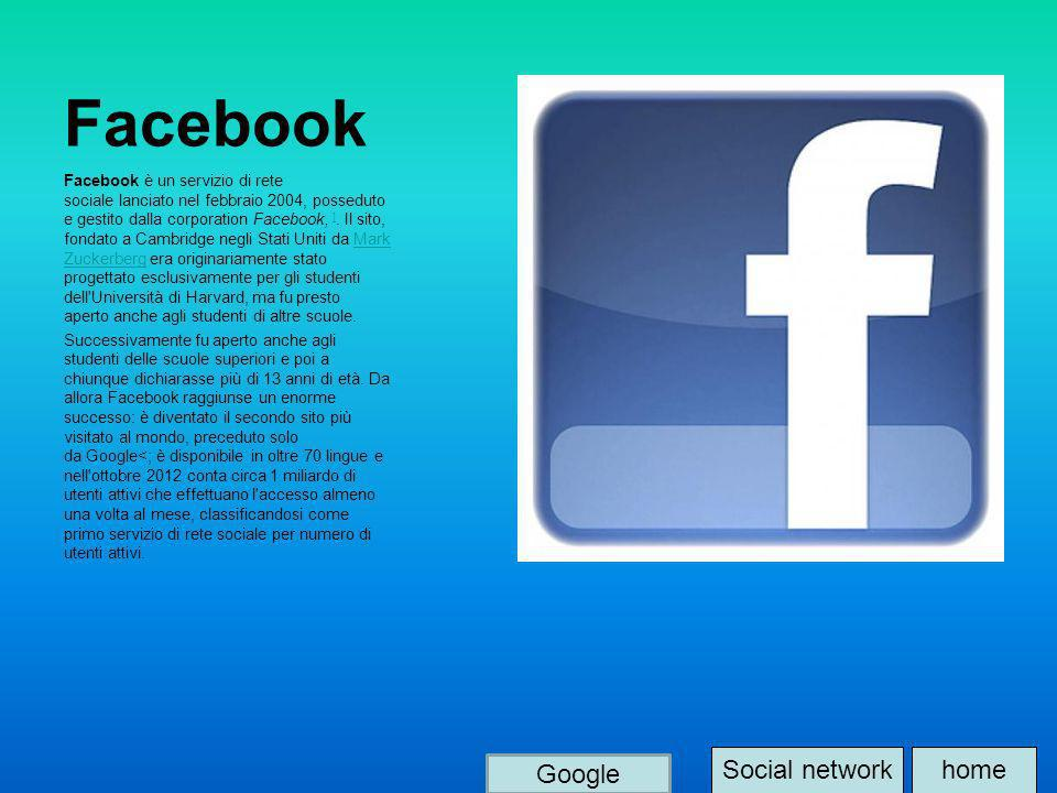 Facebook Social network home Google