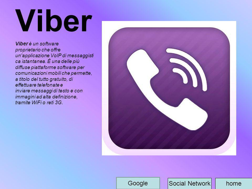 Viber Google Social Network home