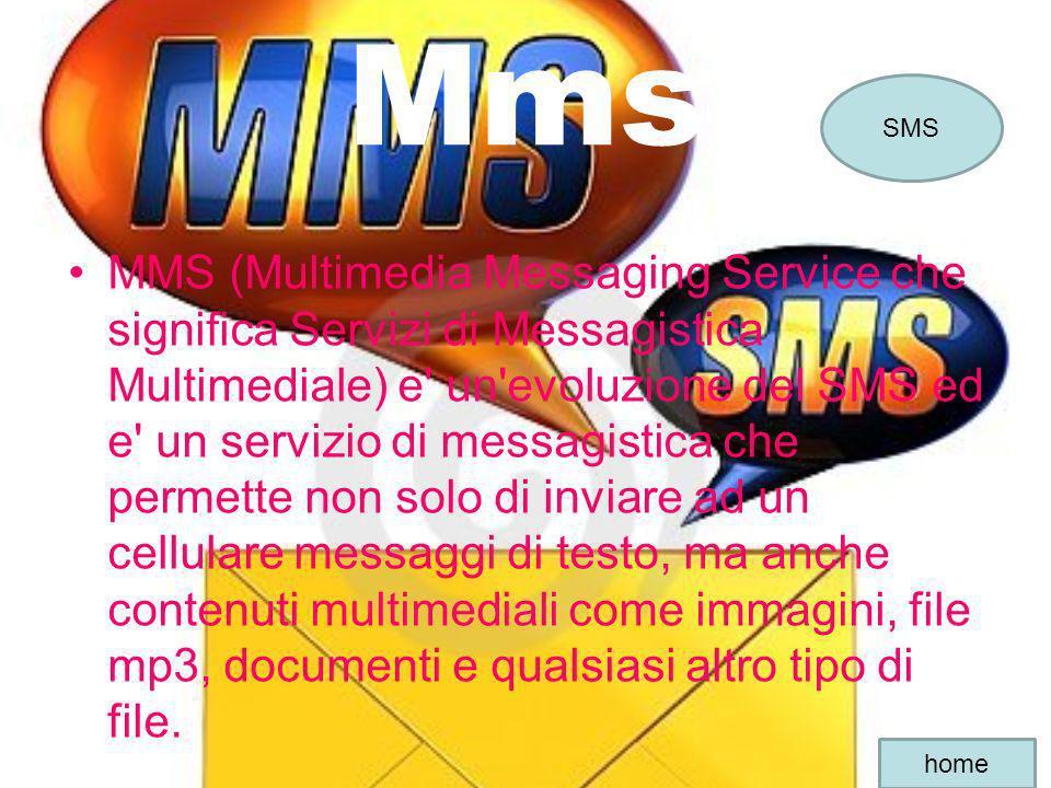 Mms SMS.