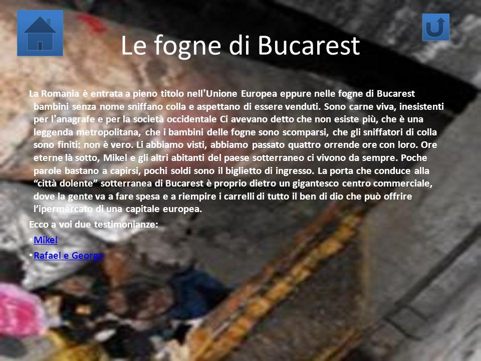 Le fogne di Bucarest