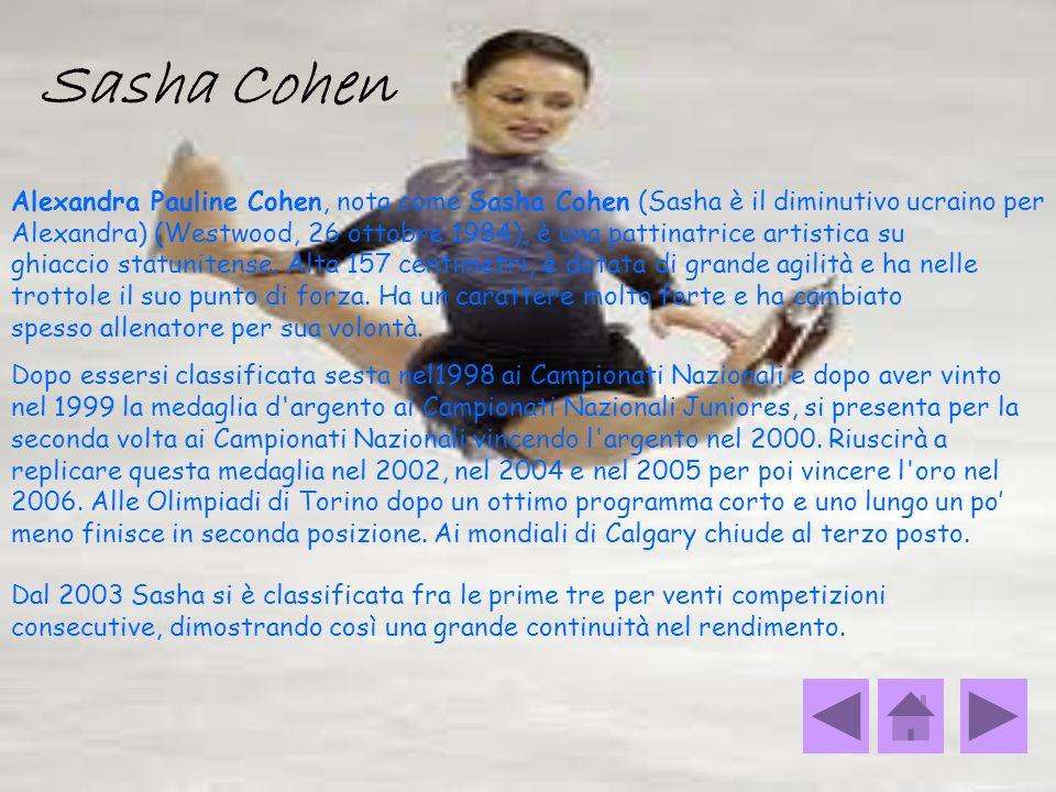 Sasha Cohen