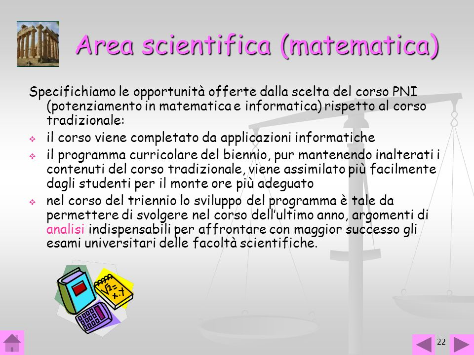 Area scientifica (matematica)