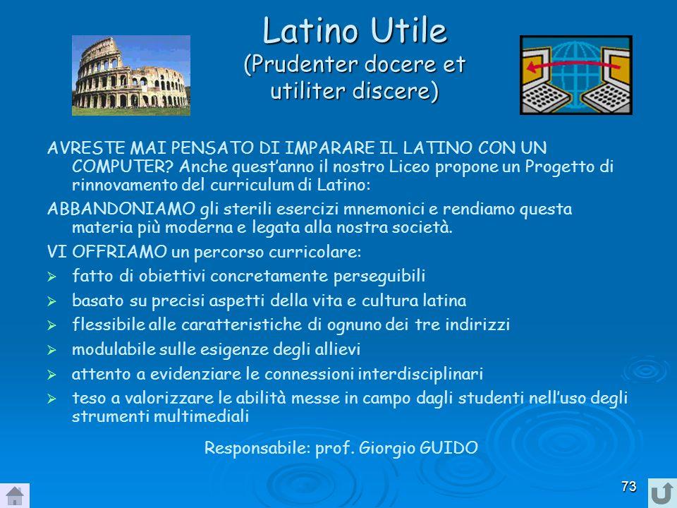 Latino Utile (Prudenter docere et utiliter discere)