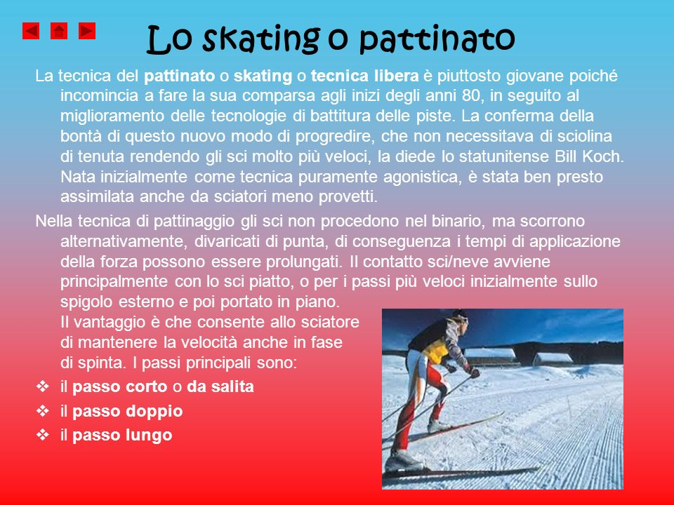Lo skating o pattinato