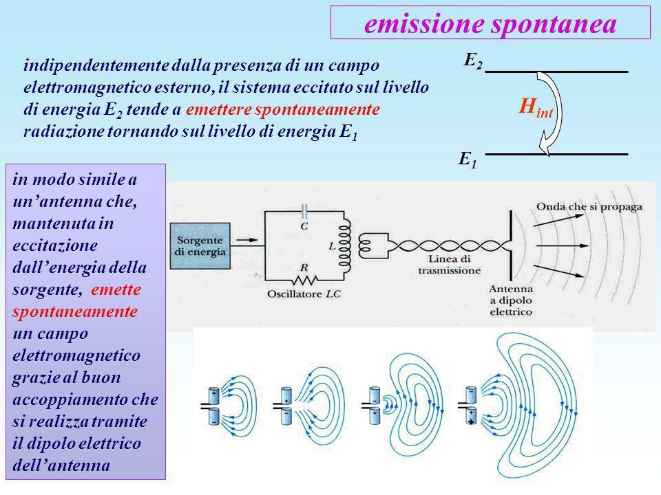 emissione spontanea Hint E2