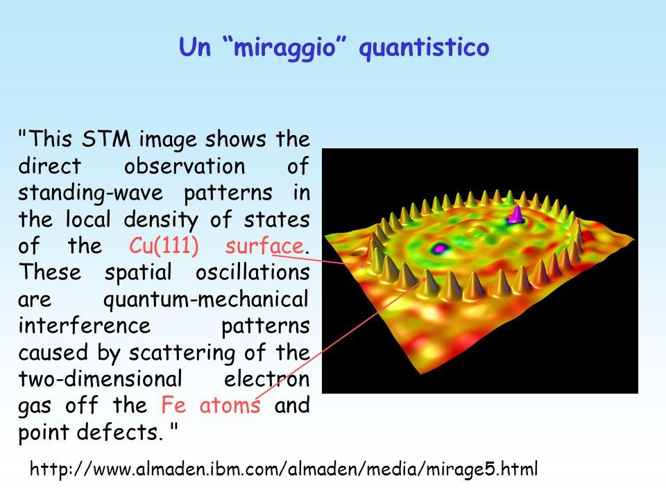 Un miraggio quantistico