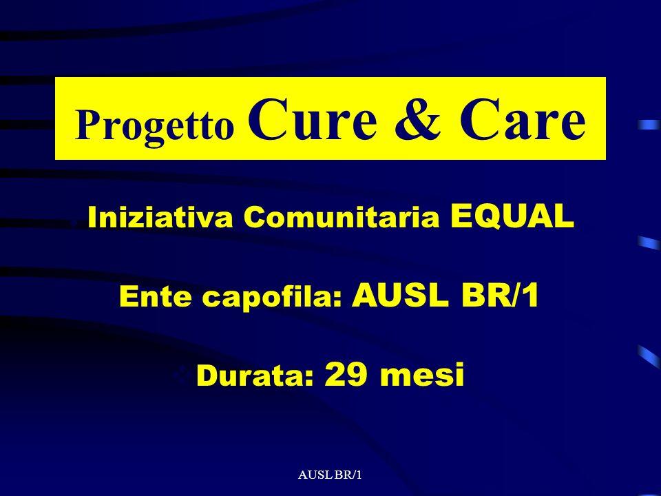 Progetto Cure & Care Iniziativa Comunitaria EQUAL