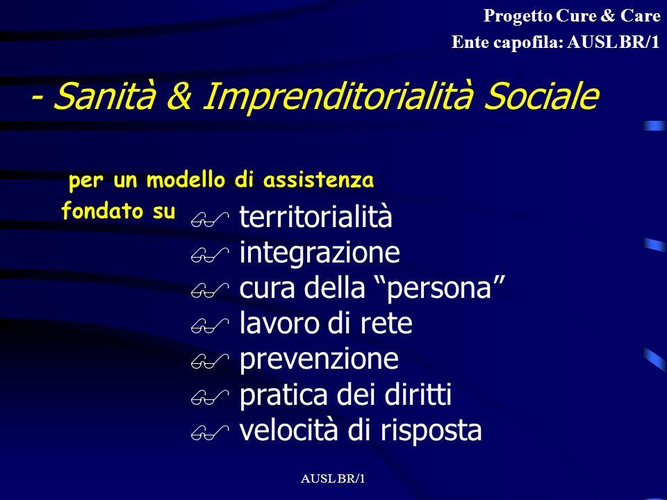 - Sanità & Imprenditorialità Sociale
