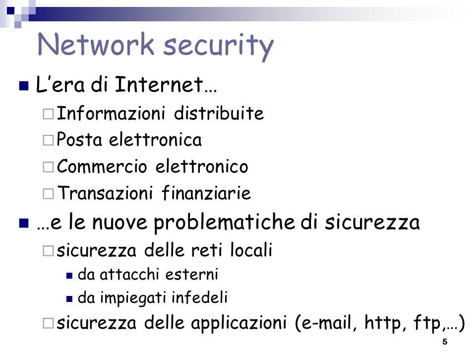 Network security L'era di Internet…