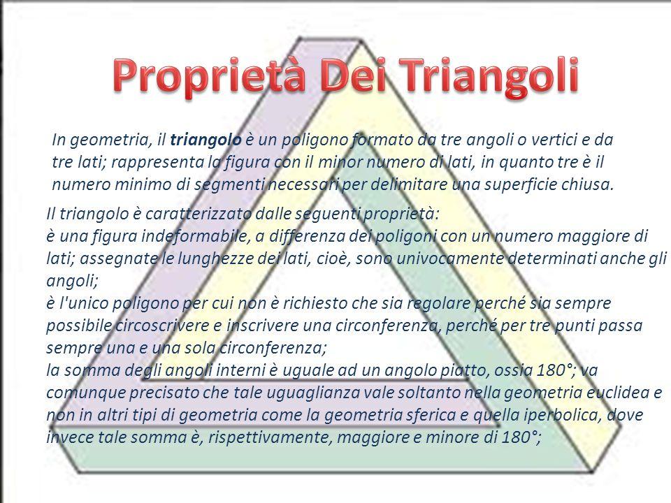 Proprietà Dei Triangoli