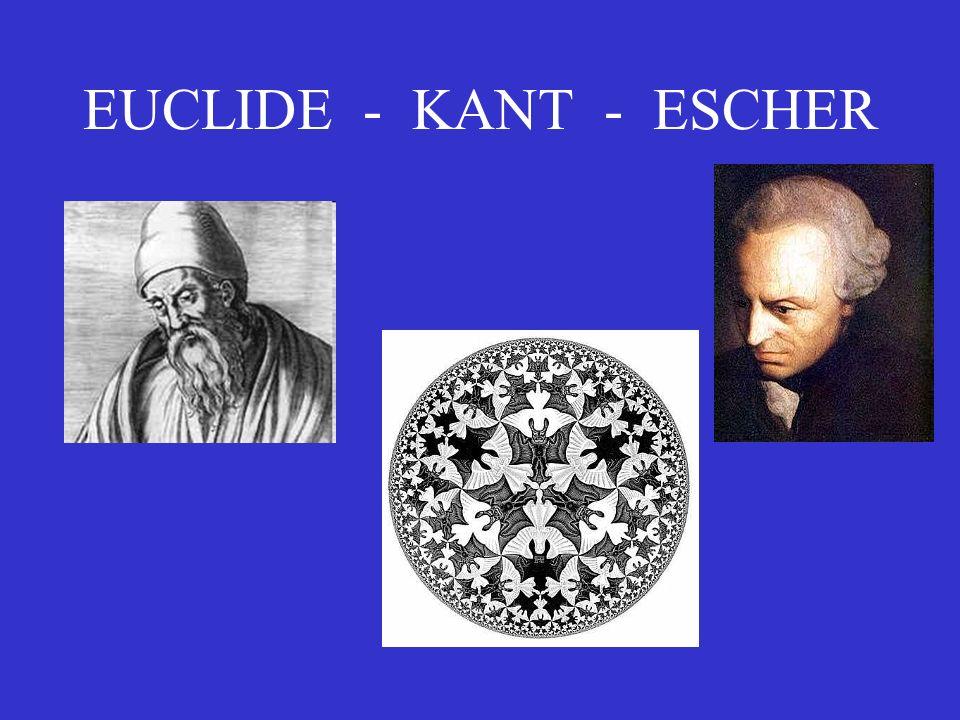 EUCLIDE - KANT - ESCHER