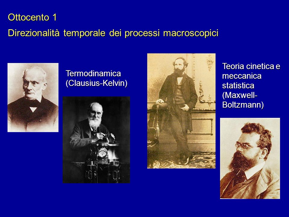 Direzionalità temporale dei processi macroscopici