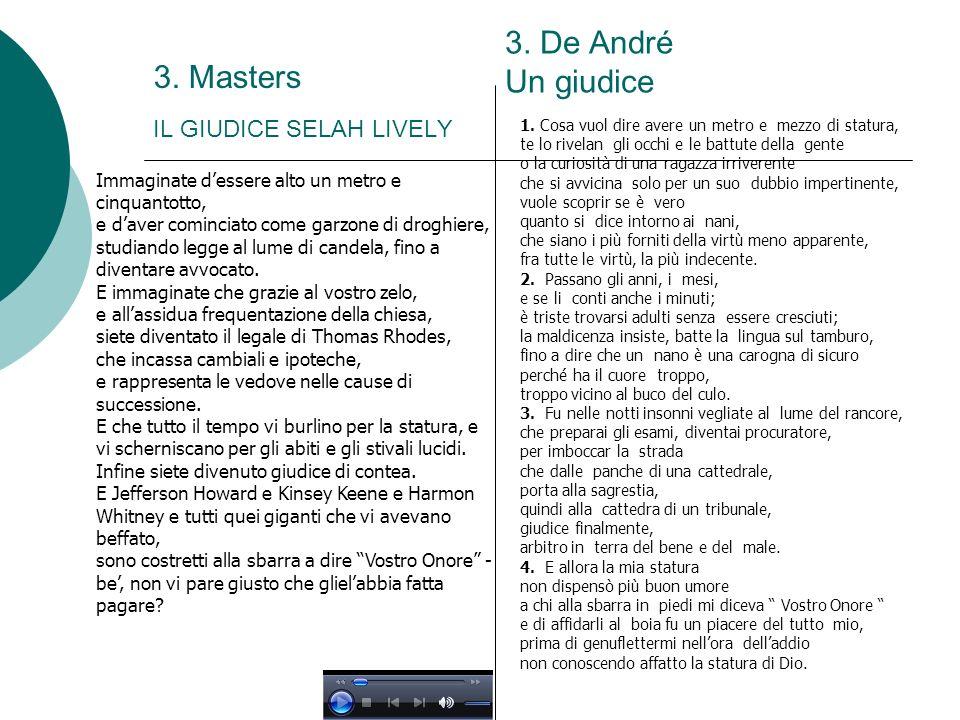3. Masters IL GIUDICE SELAH LIVELY