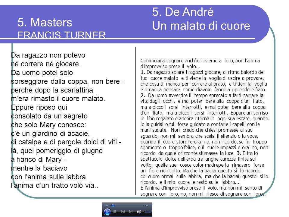 5. Masters FRANCIS TURNER