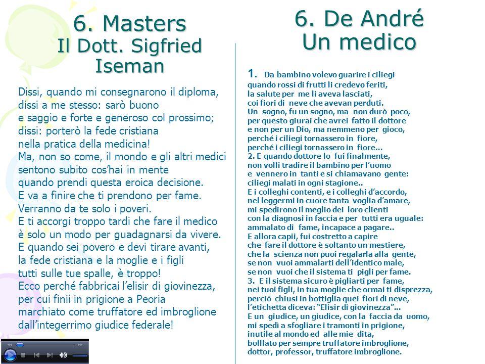 6. Masters Il Dott. Sigfried Iseman