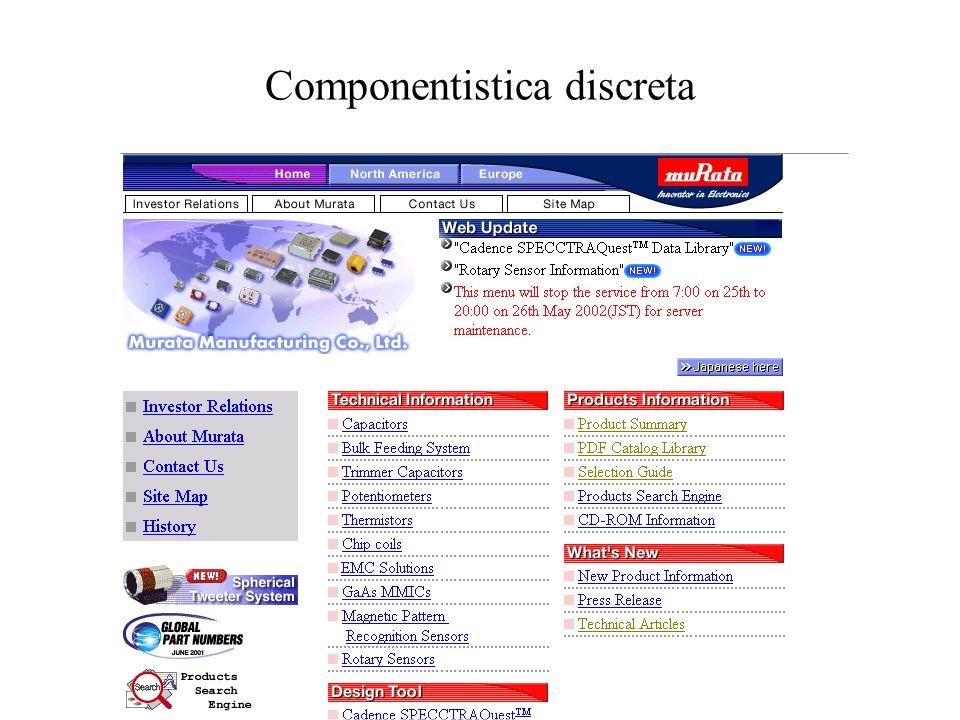 Componentistica discreta