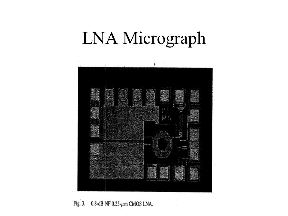 LNA Micrograph