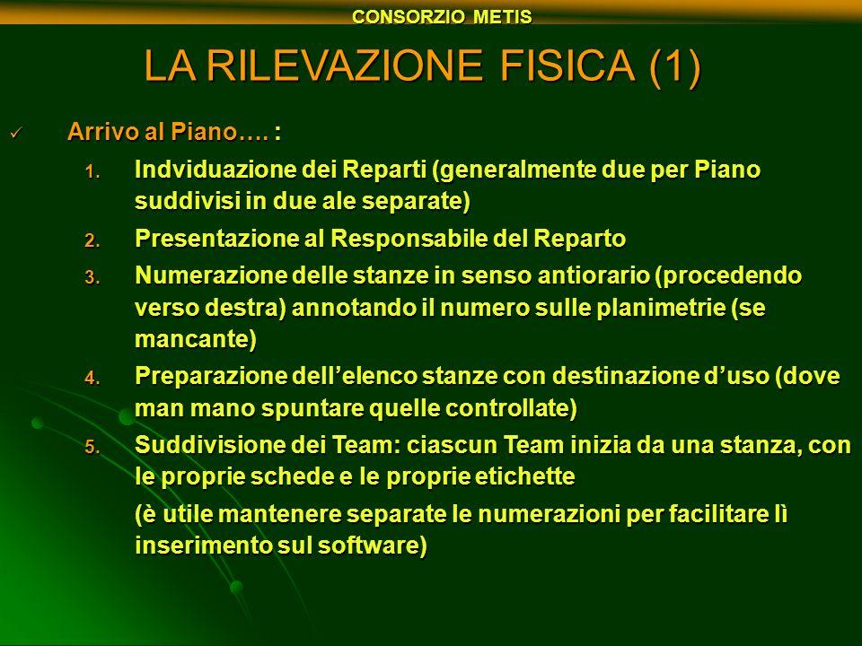LA RILEVAZIONE FISICA (1)
