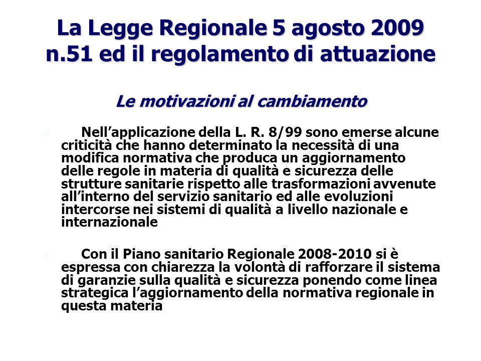 La Legge Regionale 5 agosto 2009 n
