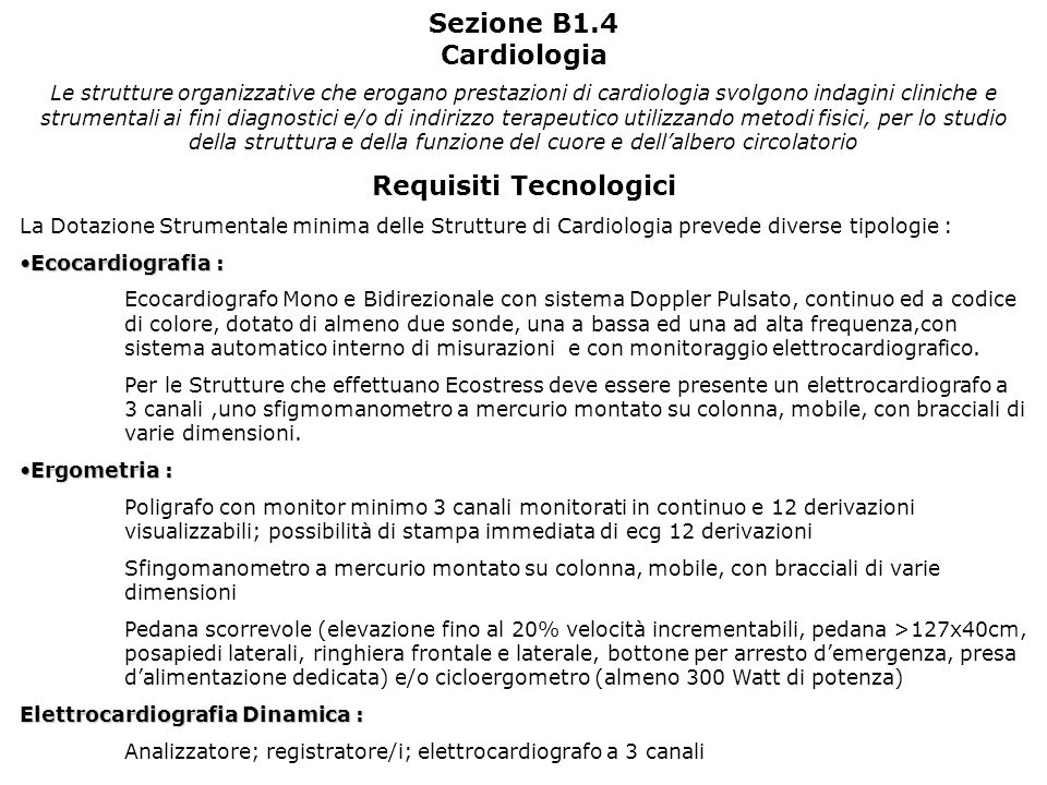 Requisiti Tecnologici