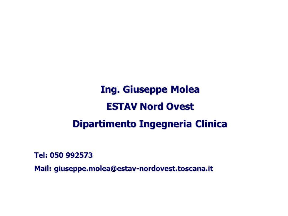 Dipartimento Ingegneria Clinica