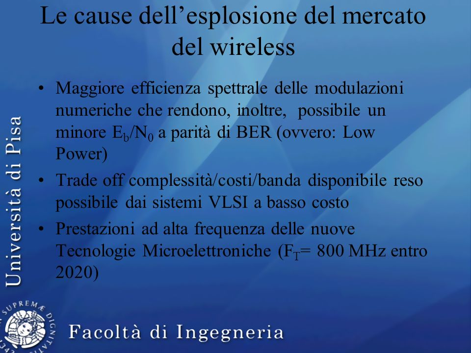 Le cause dell'esplosione del mercato del wireless