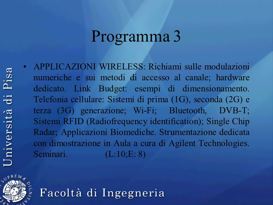 Programma 3