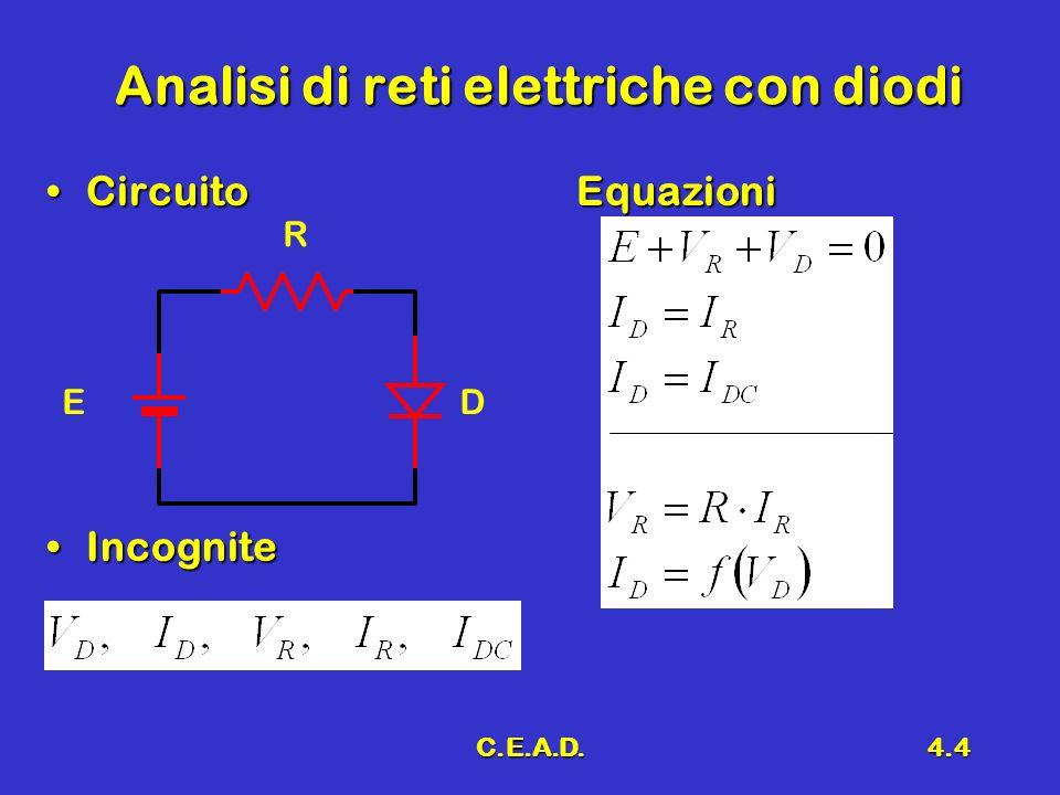 Analisi di reti elettriche con diodi