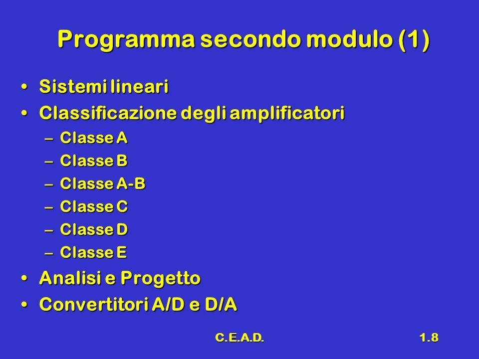 Programma secondo modulo (1)