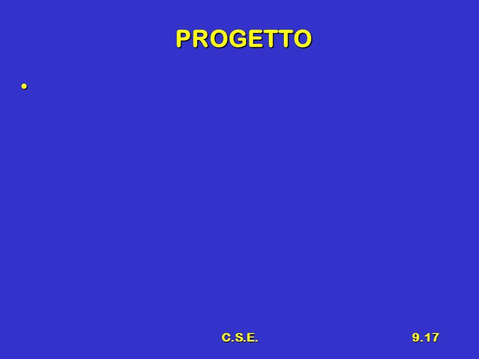 PROGETTO C.S.E.