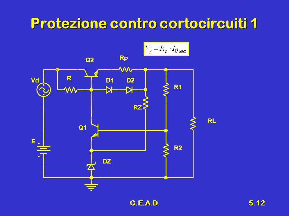 Protezione contro cortocircuiti 1