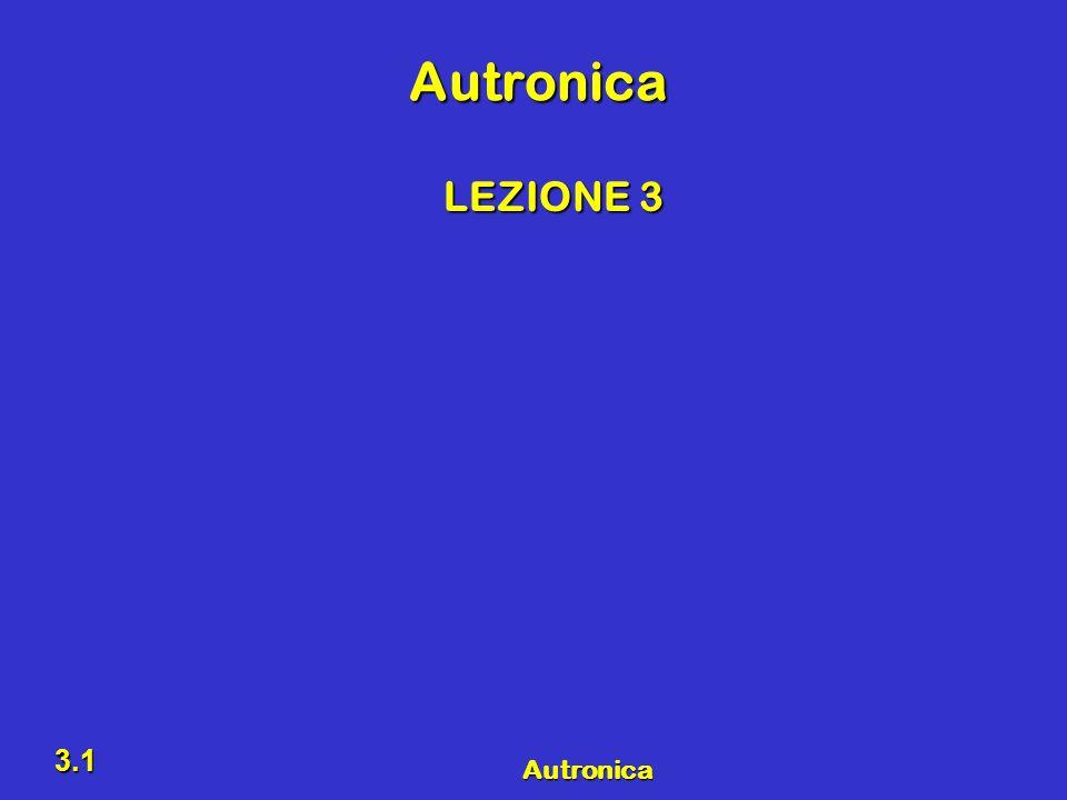 Autronica LEZIONE 3