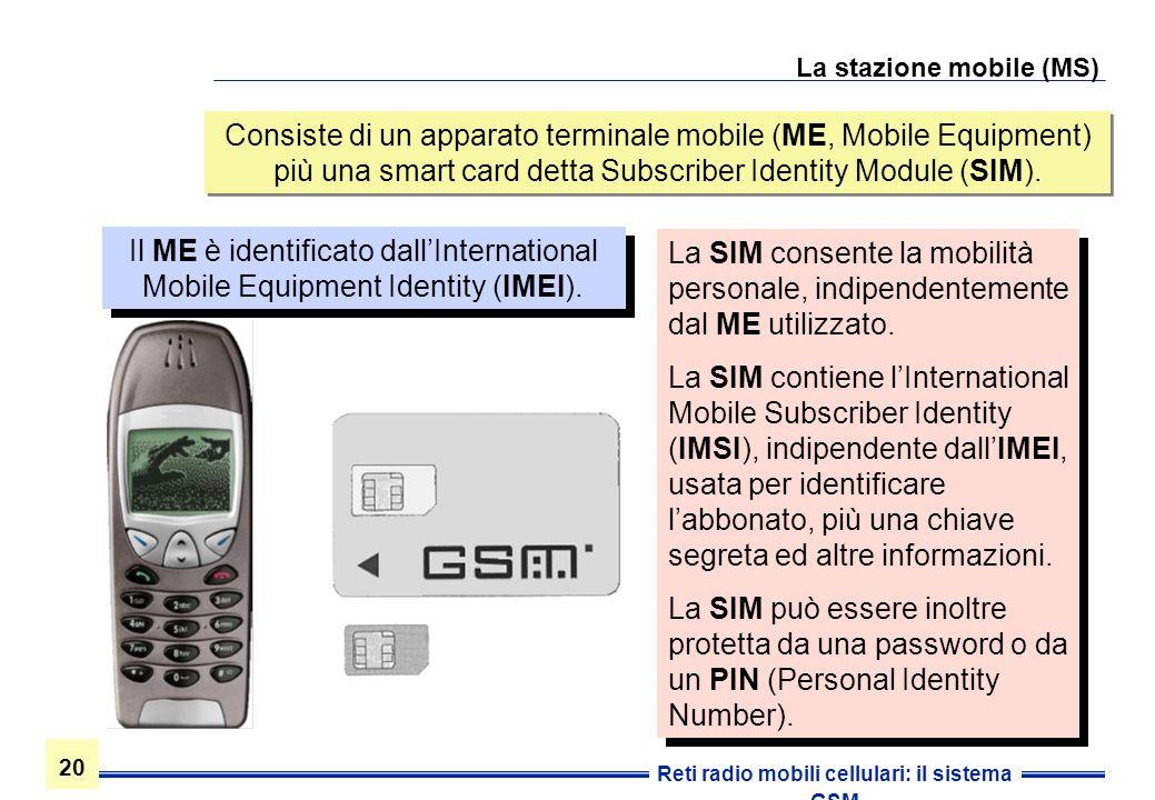 La stazione mobile (MS)
