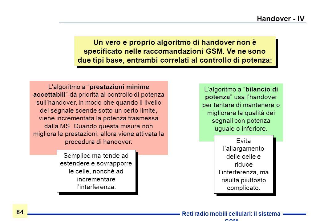 Handover - IV