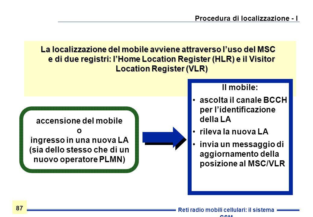 Procedura di localizzazione - I