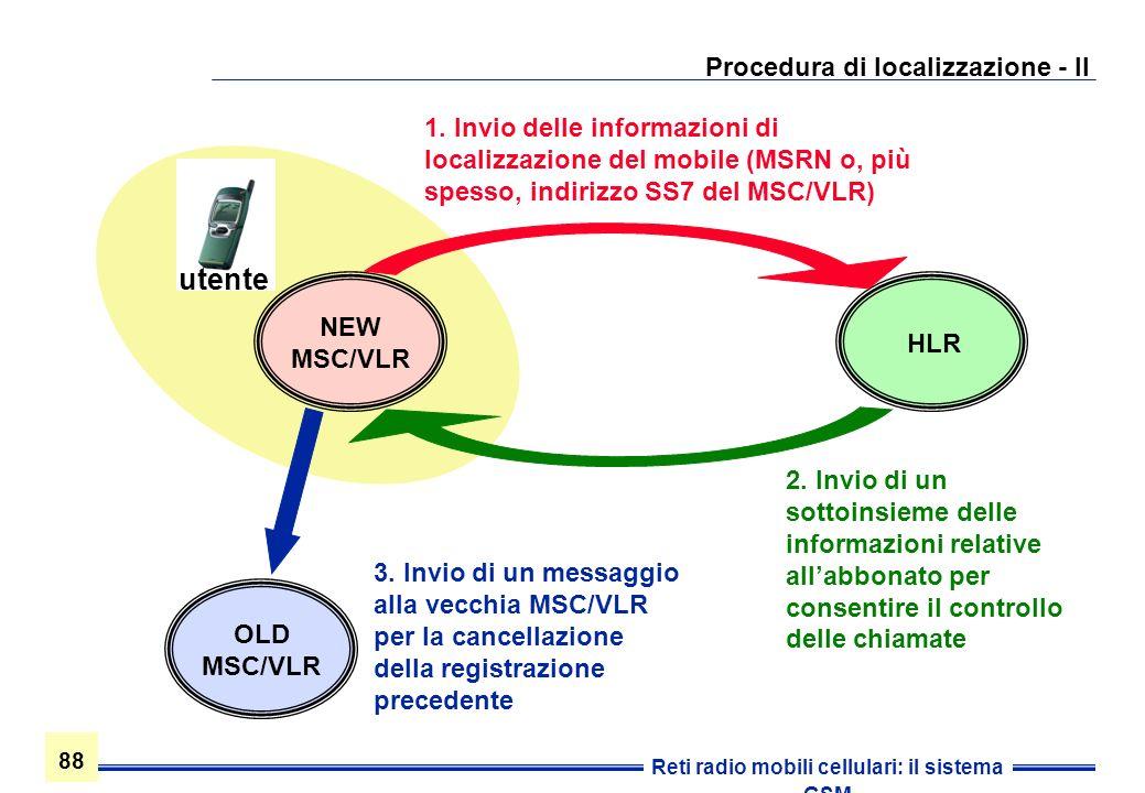 Procedura di localizzazione - II