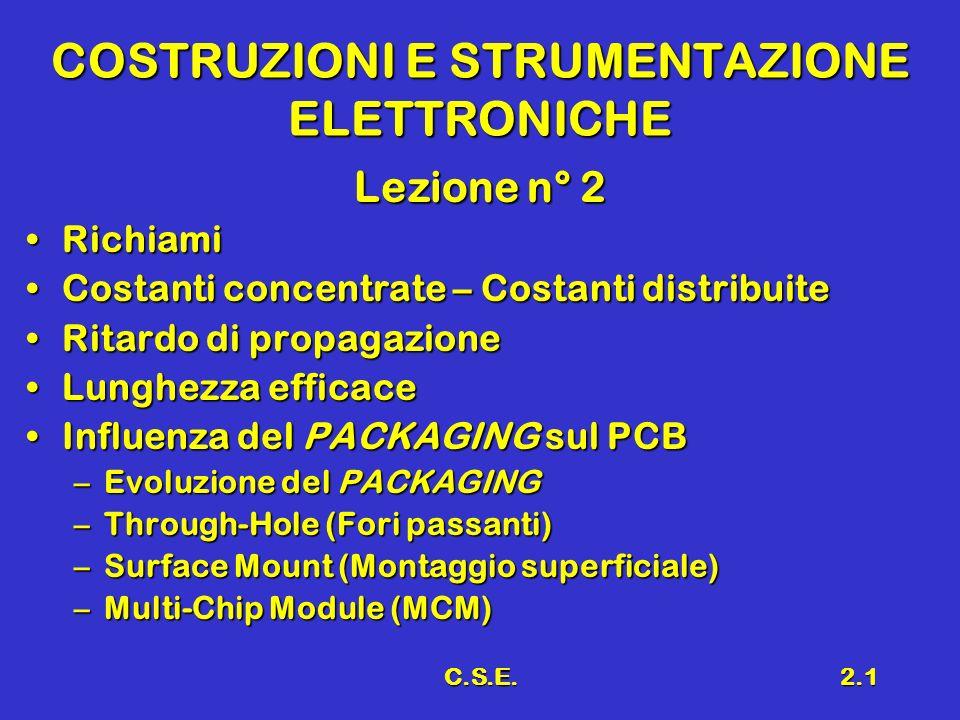 COSTRUZIONI E STRUMENTAZIONE ELETTRONICHE