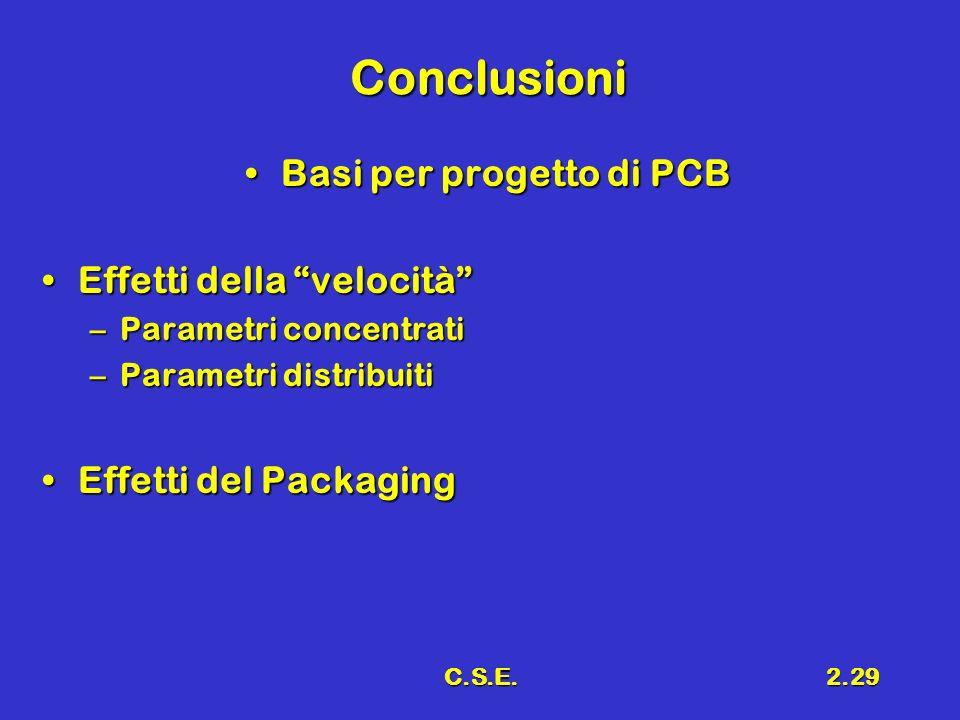 Basi per progetto di PCB