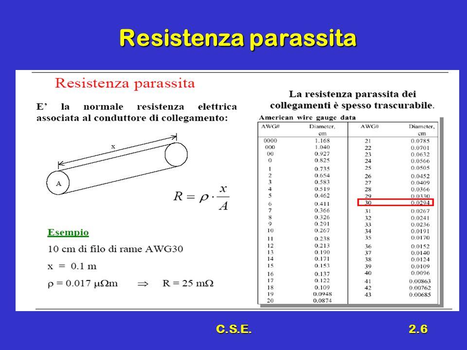 Resistenza parassita C.S.E.