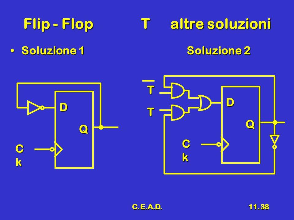 Flip - Flop T altre soluzioni