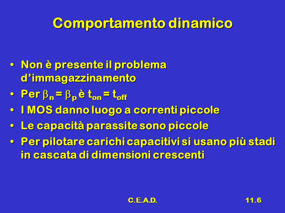 Comportamento dinamico