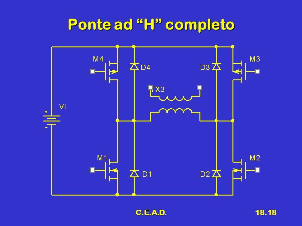 Ponte ad H completo C.E.A.D.