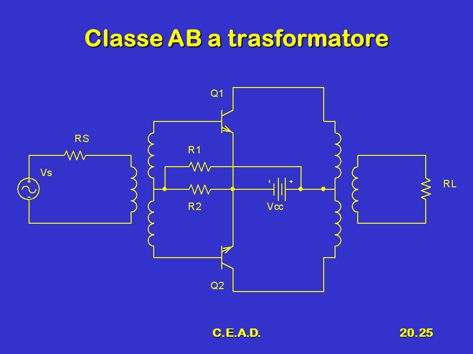 Classe AB a trasformatore