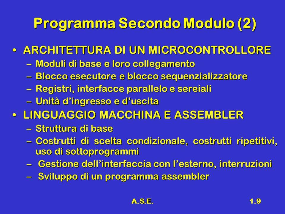 Programma Secondo Modulo (2)