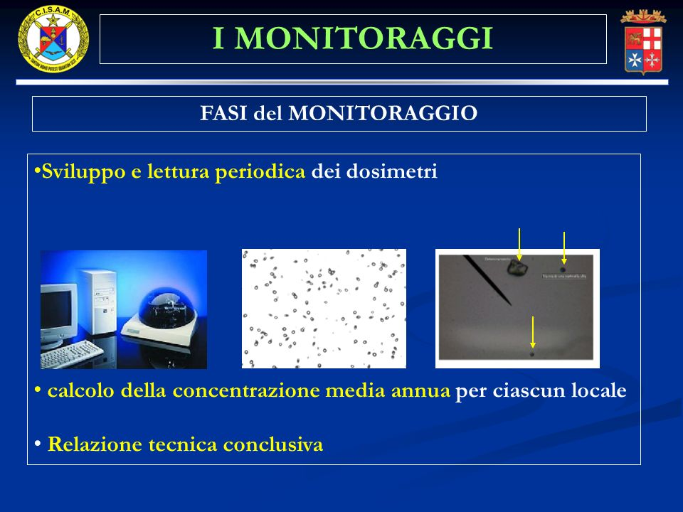 I MONITORAGGI FASI del MONITORAGGIO