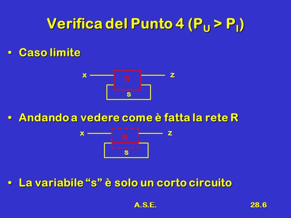 Verifica del Punto 4 (PU > PI)